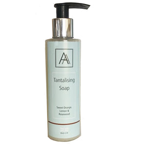 150ml Tantalising Antibacterial Hand, Face and Body Soap