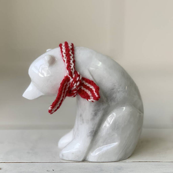 White Marble Polar Bears