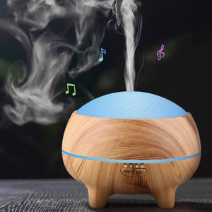 Bluetooth Music Humidifier and Aromatherapy Diffuser