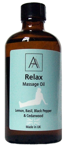 Relax Massage Oil