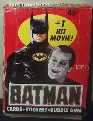 Batman Trading Movie Cards Stickers Box 36 Count