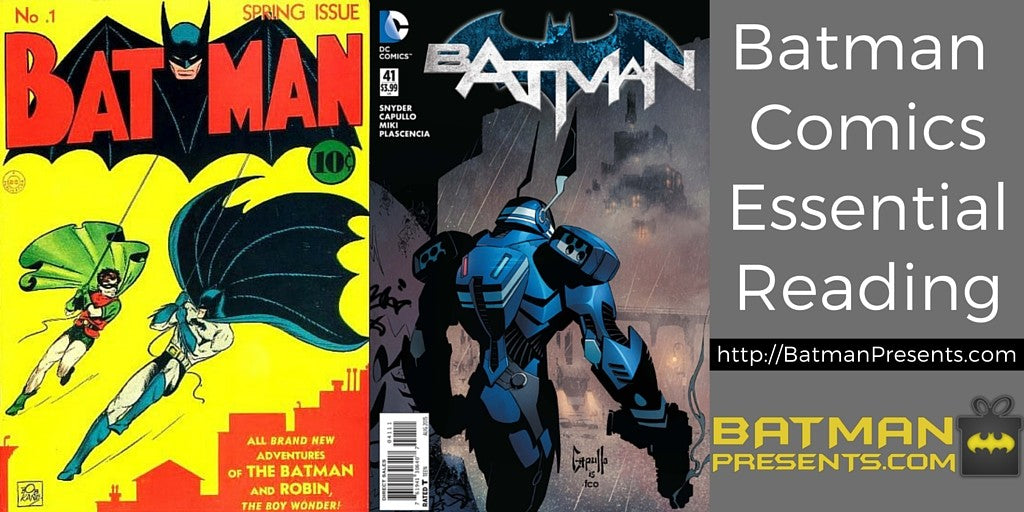 Batman comics essential reading