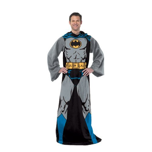 DC-Comic-Batman-Batman-in-Black-48-Inch-by-71-Inch-Adult-Comfy-Throw-with-Sleeves-by-The-Northwest-Company-0-0