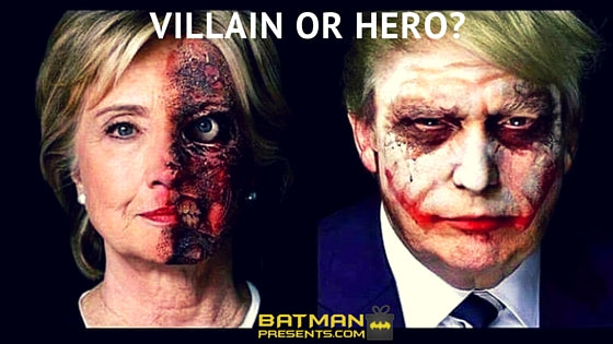 Hillary and Trump Joker