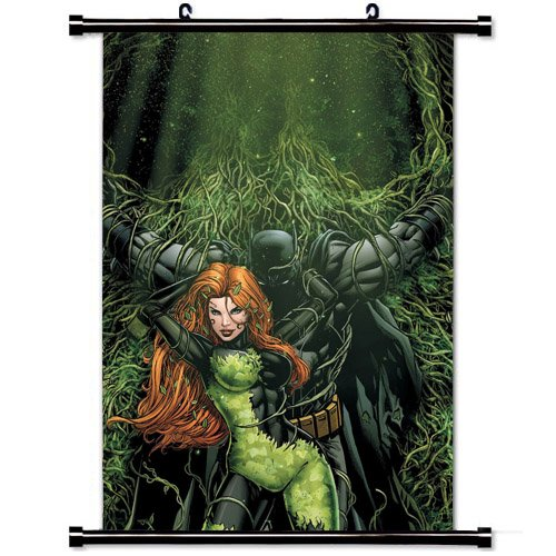 Posion Ivy Batman Wall Scroll