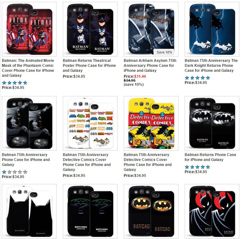 Batman Phone Cases