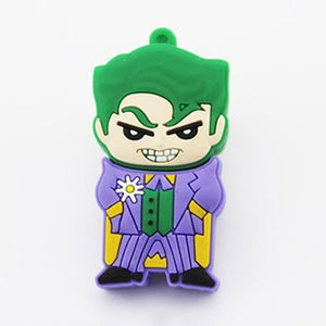 8gb Joker Flash Drive with Keychain