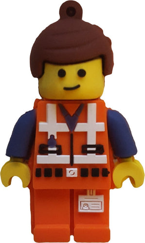 16GB Emmet Lego USB Flash Drive, Memory Storage Device, Thumb Drive