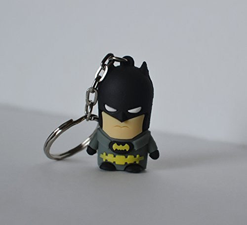 Grey Batman Flash Drive with Key Chain