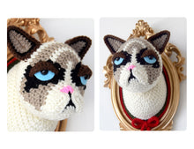 Load image into Gallery viewer, CROCHET KIT: Crotchety cat