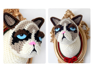 CROCHET KIT: Crotchety cat