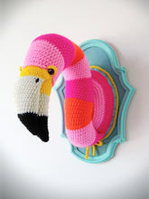 Load image into Gallery viewer, Crochet Kit: Flamingo Head