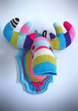 Load image into Gallery viewer, DIY Crochet Kit: Faux Taxidermy Moose Head
