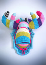 DIY Crochet Kit: Faux Taxidermy Moose Head