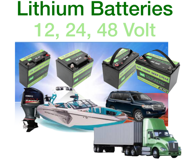 Deep Cycle, Lithium, LED,  Batteries, Lights, Caravan, Fishing, camping