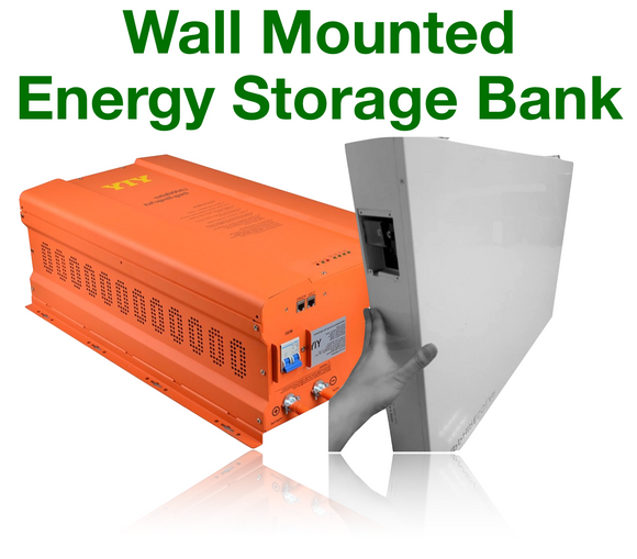 Wall Mounted Power-boards. From 1Kw to 56kw On Grid and Off Grid Energy Storage.