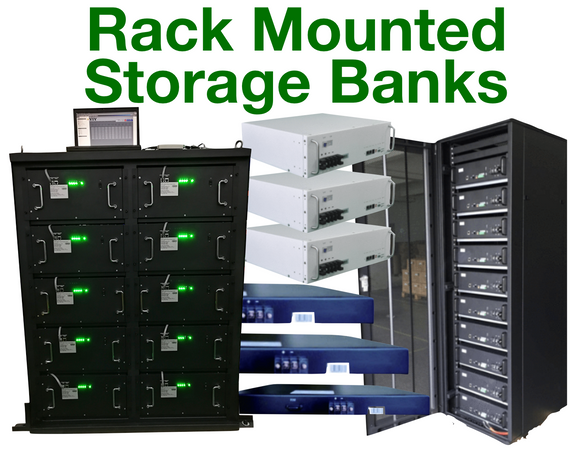 Rack Mounted Energy Storage Banks