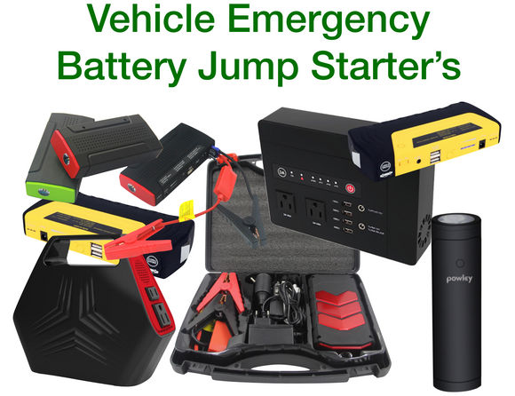 Emergency Jump Starters for Cars and Trucks [Battery booster pack]