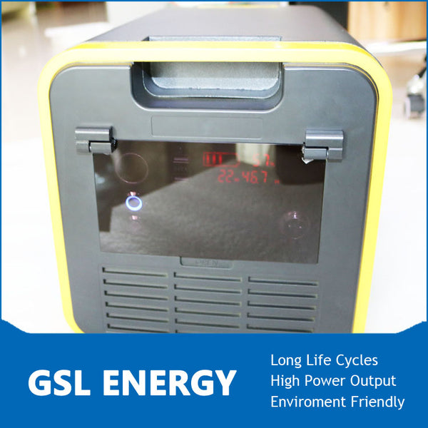 GSL-P2000 - 2000W portable AC power supply 100V-240VAC , 12VDC, 5VDC