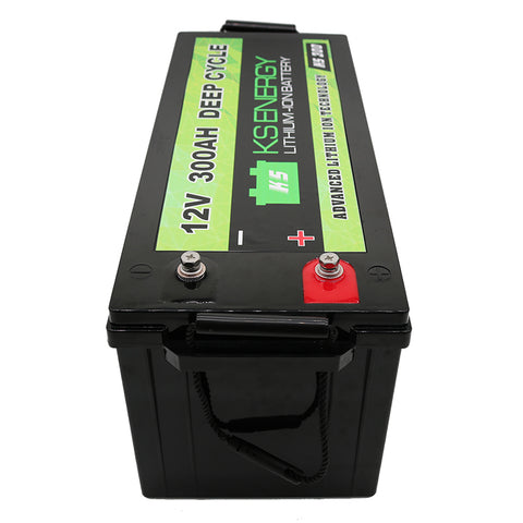 Lithium Ion 12 Volt 300A Battery will bring excellent performance