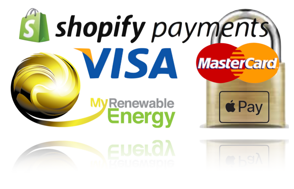 My Renewable Energy Australia Shopify Payments Vias Mastercard payments credit card