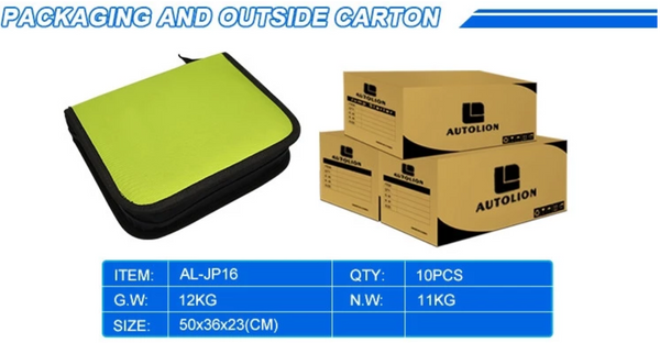 Autoline-AL-JP16 - 16,000mah Emergency portable battery jump starter for cars, light trucks and accessories
