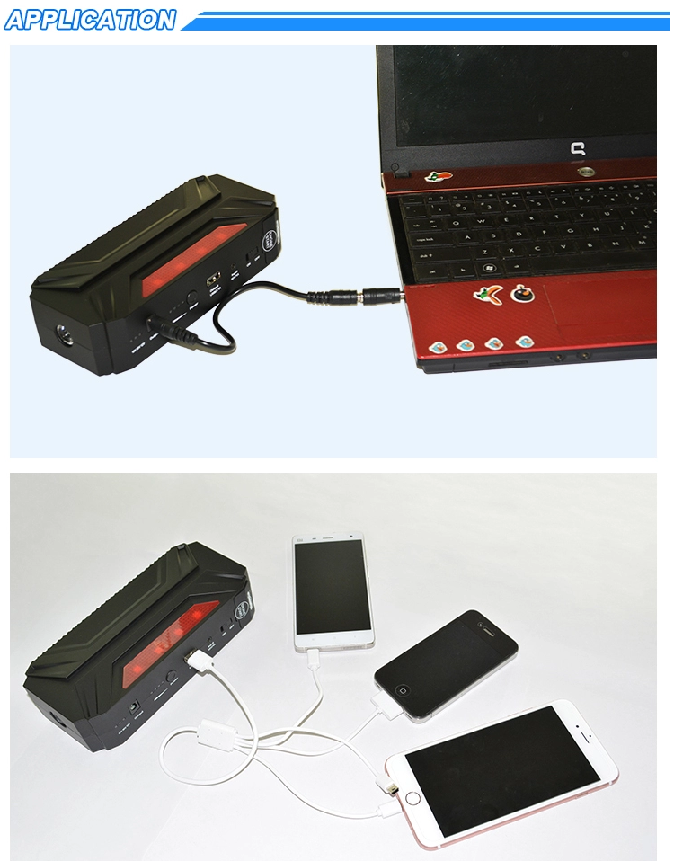 Autoline-AL-JP188 - 18000mah - 12V/600A Portable Multi-function jump starter for cars and light trucks with a flat battery.