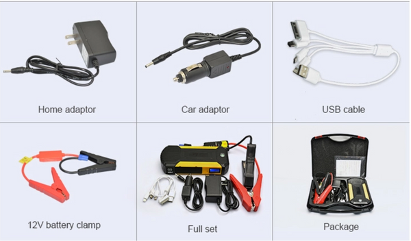 Autoline-AL-JP19C - All New 16,800mah multi functional lithium battery jump starter. Just what you need to jump starting your vehicle using this great power bank charger