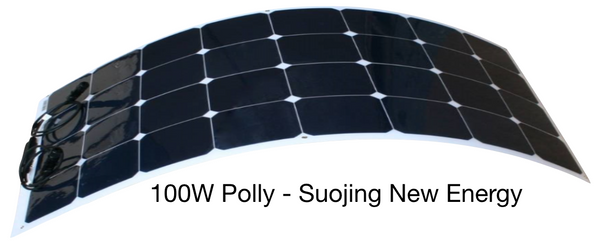 100W Flexiable Solar Panel