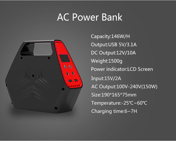 Haoyuxin -DG-HK-HP100s Battery  -  42000mah/100W- High capacity, high rate, high/charge, discharge Lithium Battery