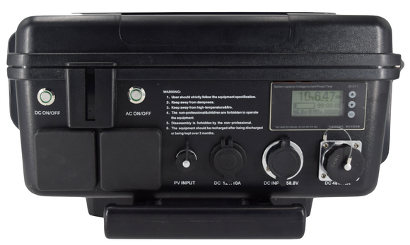 Sturdy Portable Power Station 6000W Peak - STD-T304860/T3048120