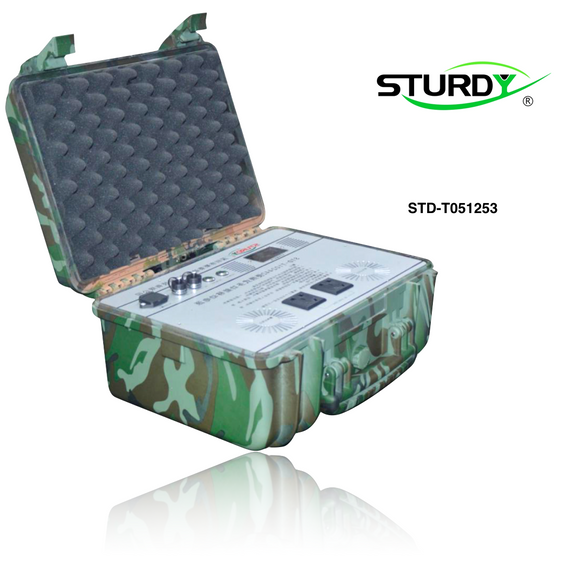 Stock . Sturdy Portable Power Station 1,000W Peak. STD-T051253, STD-T102443