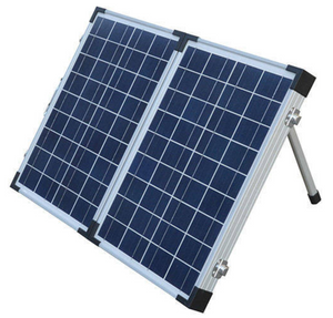 Pack of 10 Units - Double Portable POLY Panel 40W to 200W Fortunes Solar