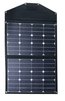 Folding Solar Panel 75 Watts 4.62A Letsolar SH72