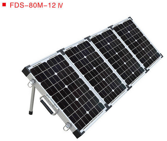 Pack of 10 Units - Portable QUADRUPLE-Module MONO PANEL Camping Kit 80W to 200W Fortunes Solar