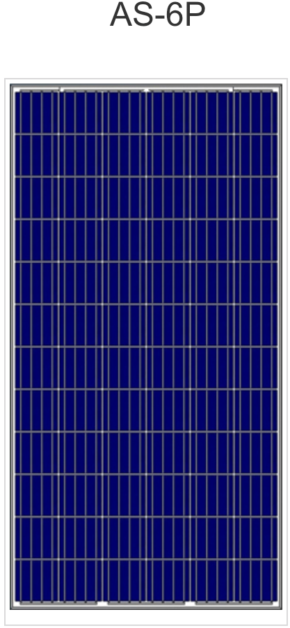 Coming Soon - Pallet - AS-6P Polycrystalline Solar Panels [26 panels] Shipped from Factory to your door.