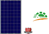 AS-6P Polycrystalline Solar Panels in Packs of 10 - Shipped from Factory to your door.