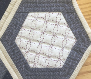 Sashiko Table Centre Kit