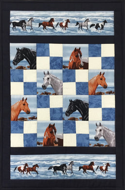 Horses Wall-Hanging Kit