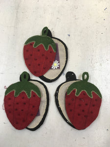 Strawberry Needle Case