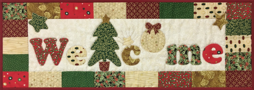 Welcome Signs - Holidays Pattern