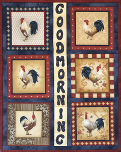 Cockerel Wall Hanging Kit