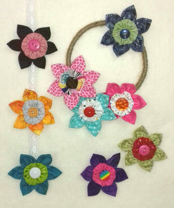 Flower Brooches Kit