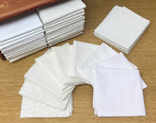 White on White and Cream on Cream Fabric Bundles