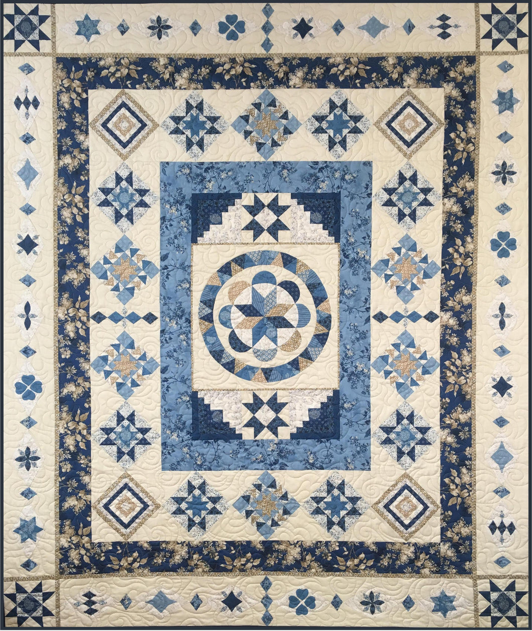 Blue By Design - Block of the Month