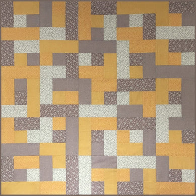Chocolate Orange Quilt Kit