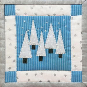 Christmas Trees Mug Mat Kit