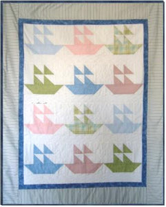Sail Boats Pattern