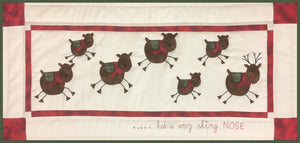 Reindeer Wall Hanging - Fifth Month of Christmas