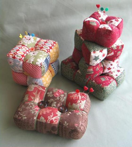 Trio of Pincushions Pattern